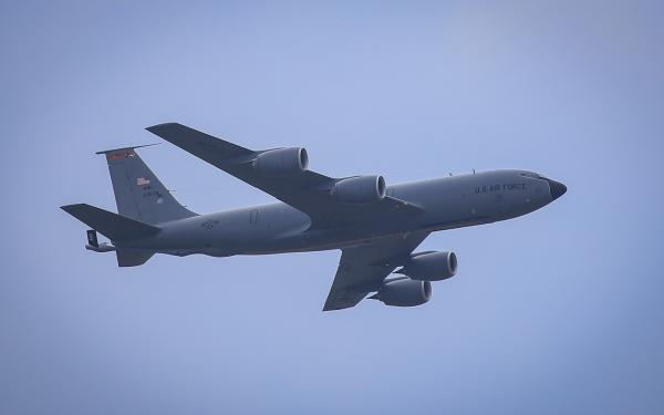 108th KC-135 at Power in the Pines