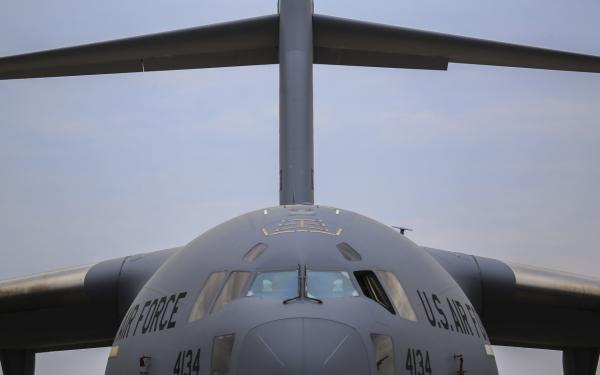 C-17 at Power in the Pines